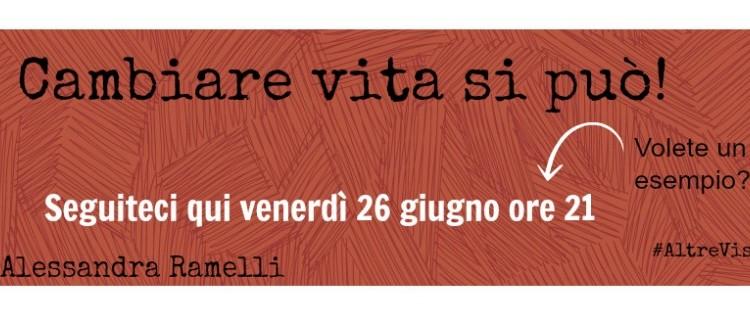 4 chiacchiere con… Alessandra Ramelli #AltreViste