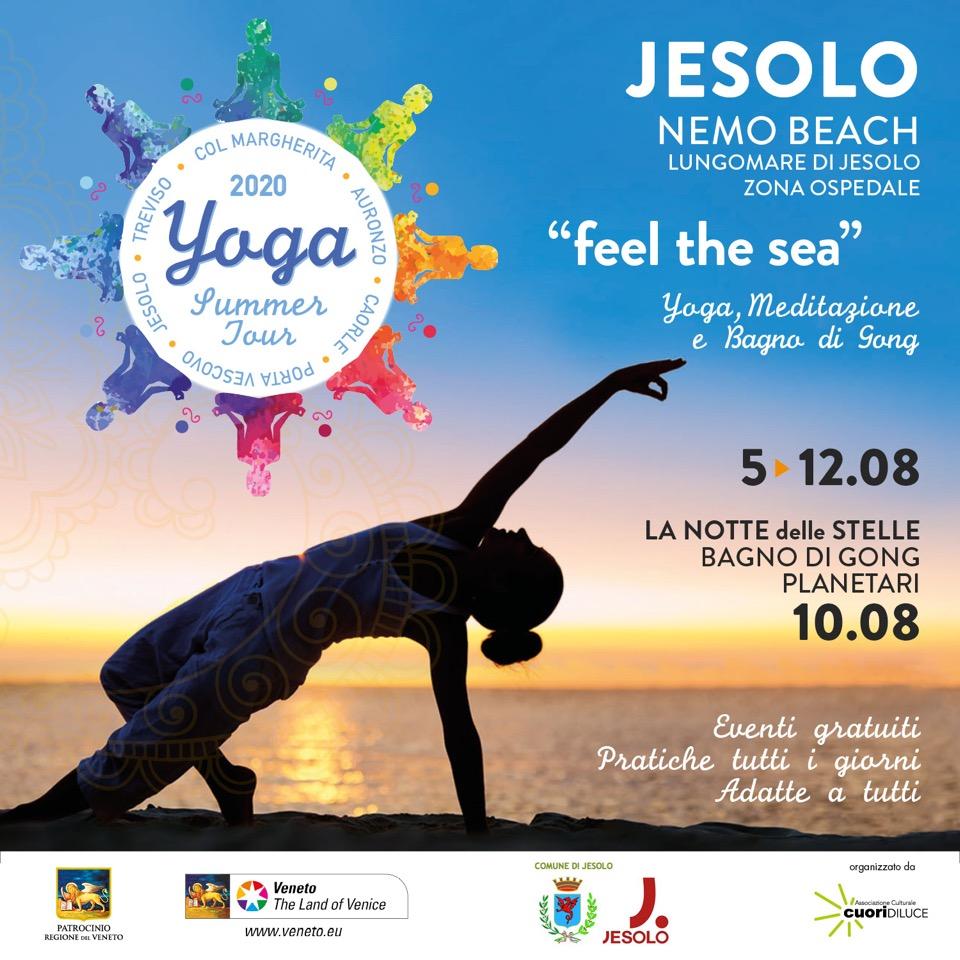 Yoga Summer Tour Jesolo Roberta Marzola